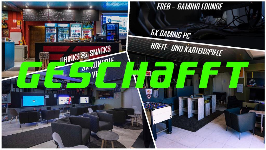 ESEB Gaming Lounge ein voller Erfolg