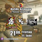 DeSBL Allmode #1 – ESEB vs Munich United U|64 – Spieltag 4