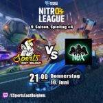 Nitro League #9 – ESEB vs NOX eSports Konoha – Spieltag 4