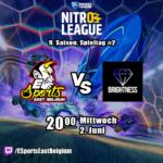 Nitro League #9 – ESEB vs Black Diamonds Brightness – Spieltag 1
